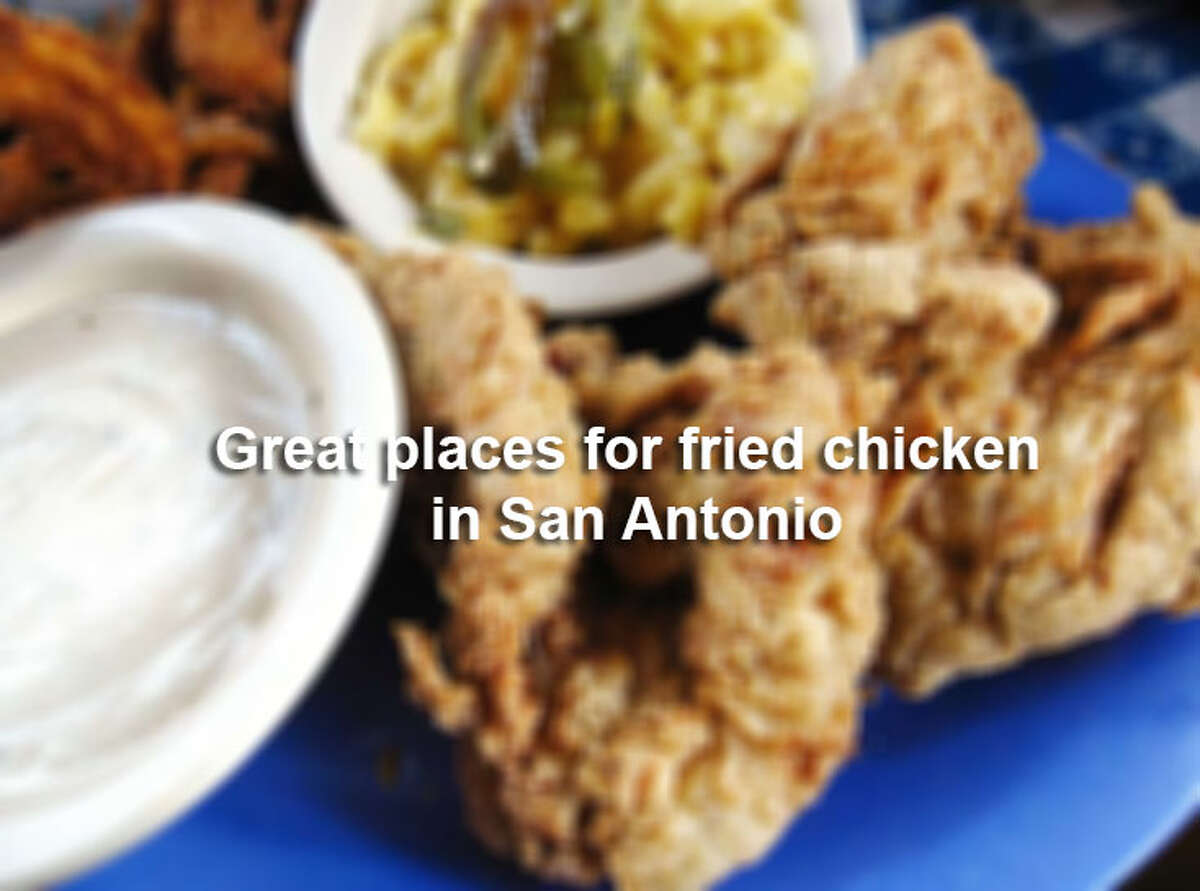 Click ahead to view 19 places for fried chicken in San Antonio.