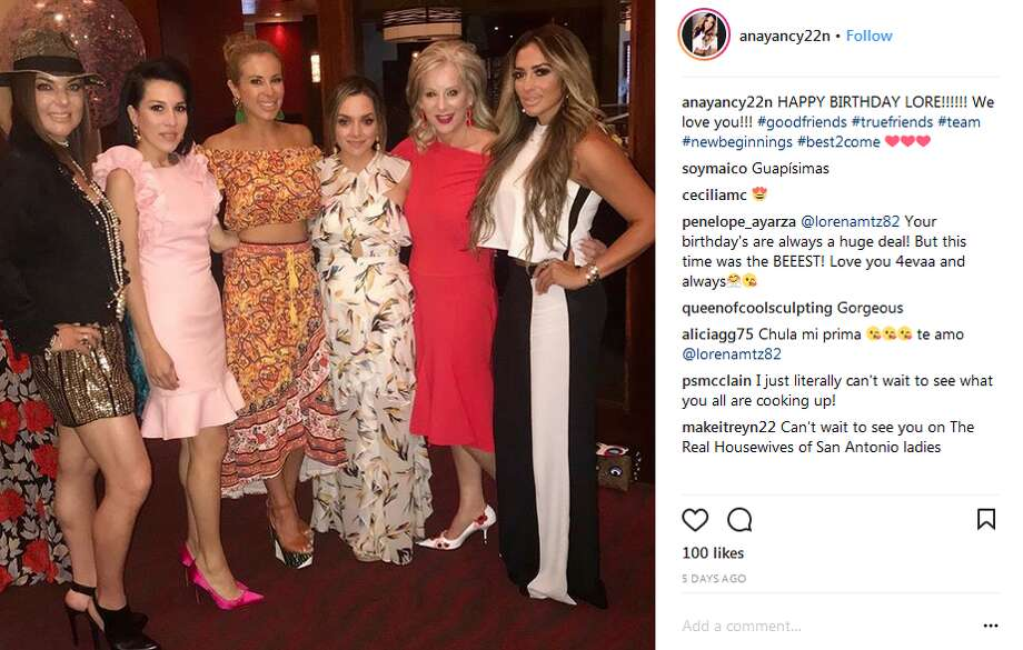 From left to right: Luz Ortiz, Karla Ramirez, Penelope Ayarzagoitia, Lorena Martinez, Janet Montagne and Anayancy Nolasco. Photo: Twitter, Instagram Screengrabs