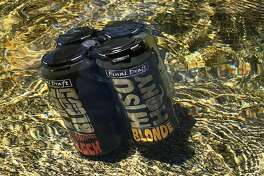 A pack of beer from Final Draft Brewing Company in Redding.