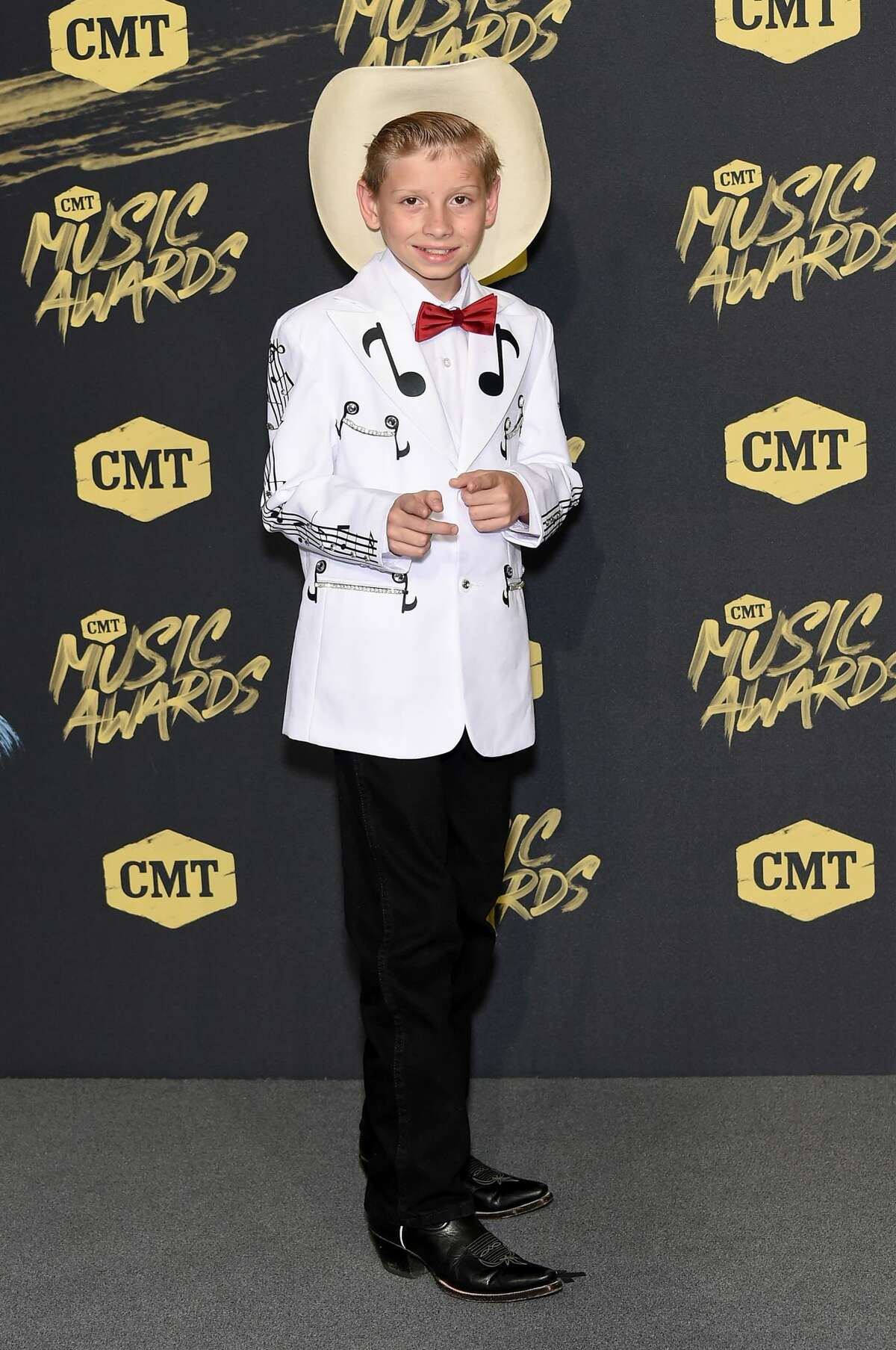 Best: Mason Ramsey is quickly rising in the fashion world. He knows how to slay a look.
