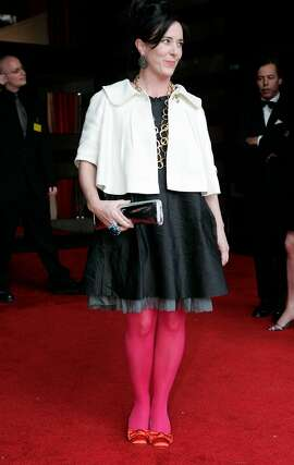 SFIS_modern_00396.jpg  Designer Kate Spade arrives at SFMOMA's Modern Ball in San Francisco, CA.  (Laura Morton/Special to the Chronicle)  *** Kate Spade