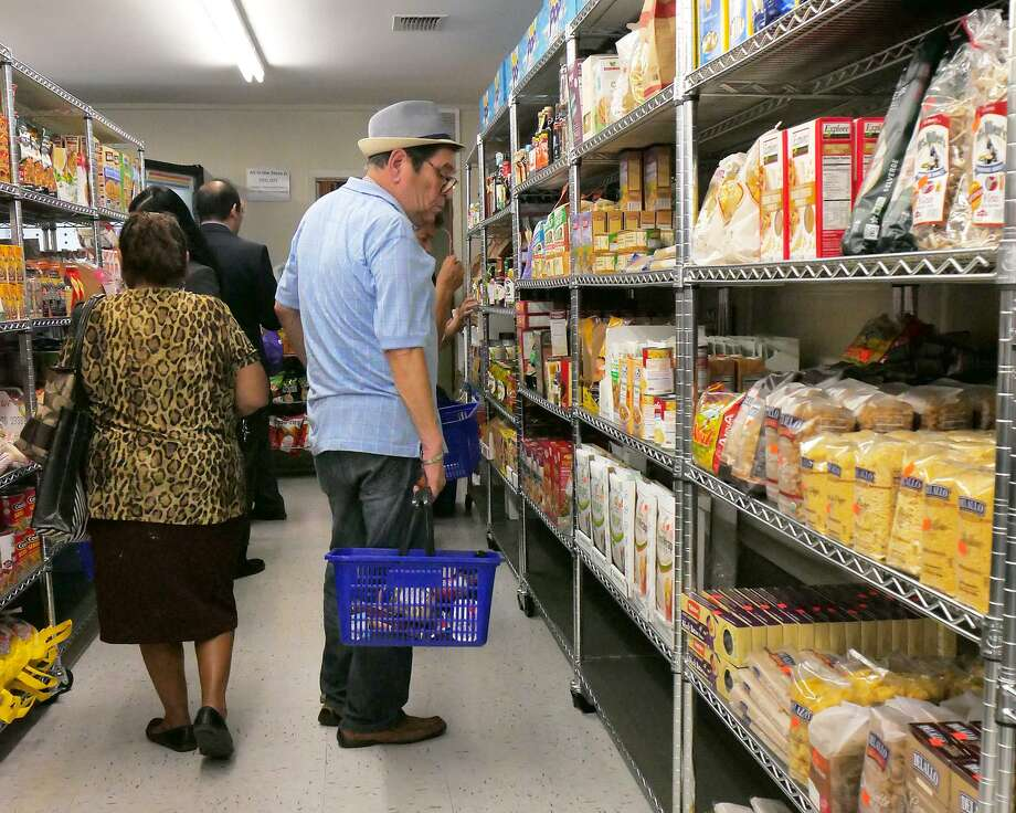 Francisco Munnoz was among the first shoppers at the Joseph's Store House that opened at 1210 Matamoros Street on Wednesday. Photo: Cuate Santos /Laredo Morning Times / Laredo Morning Times