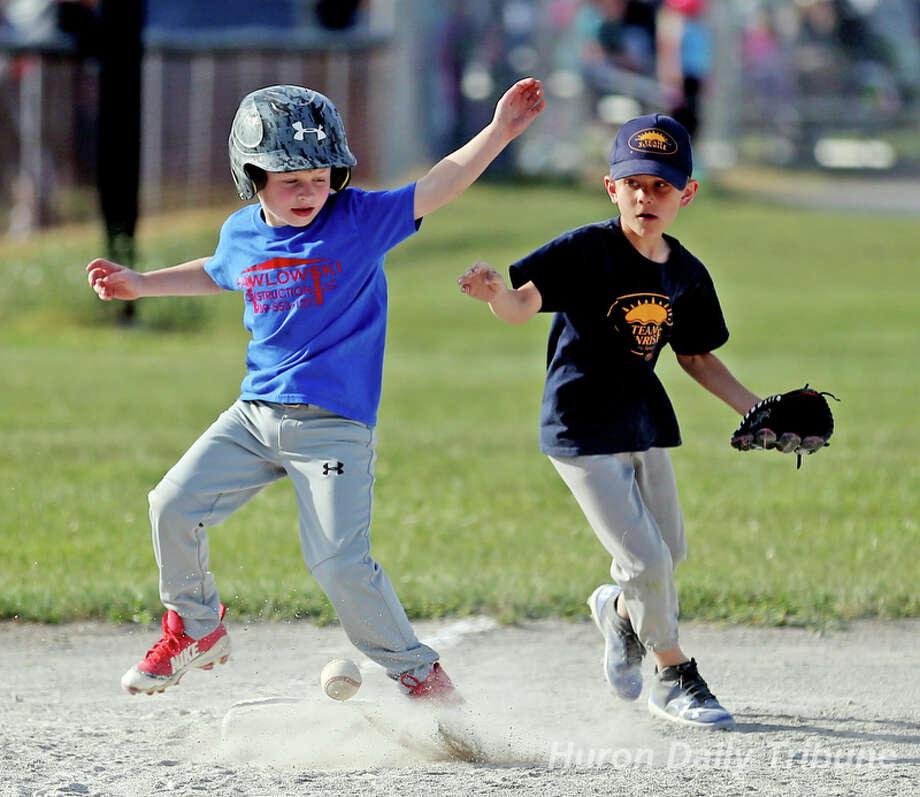 Little League 6-6-18 Photo: Mike Gallagher/Huron Daily Tribune