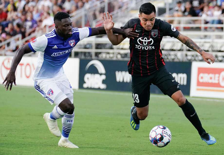 FC Dallas plays San Antonio FC during the fourth round of the Lamar Hunt U.S. Open Cup, Wednesday, June 6, 2018, at Toyota Field in San Antonio, Texas. (Darren Abate/USL) Photo: Darren Abate, STF / Darren Abate/USL / Darren Abate Media LLC