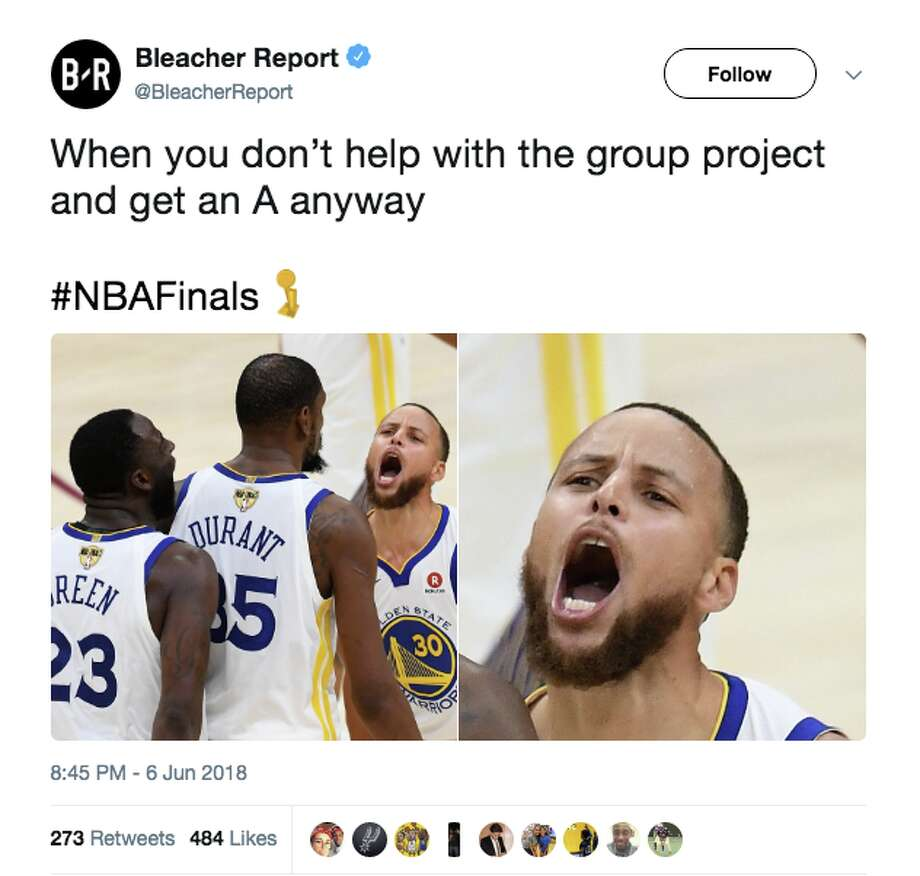 Durant dominates, memes take on NBA Finals as Warriors come back to win Game 3 - SFGate