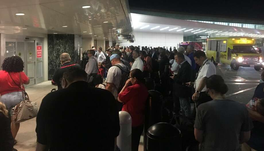 Hobby Airport was temporarily evacuated after a scare on Thursday, May 7, 2018. Photo: Keri Blakinger