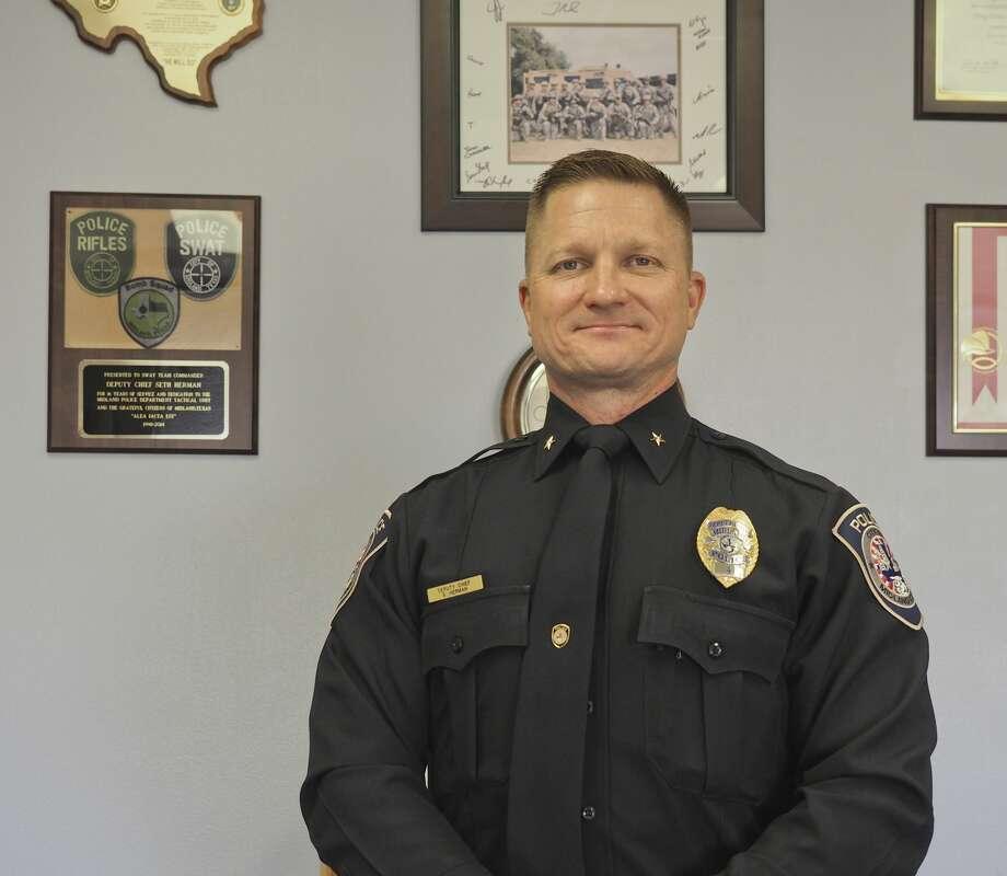 Midland Police Deputy Chief Seth Herman. 06/07/18 Tim Fischer/Reporter-Telegram Photo: Tim Fischer/Midland Reporter-Telegram