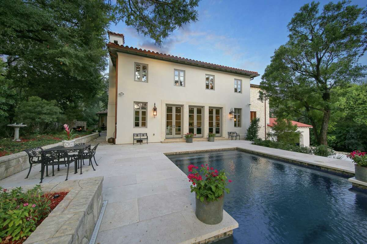 A 6,600-square-foot home in Olmos Park is on the market for $3 million.