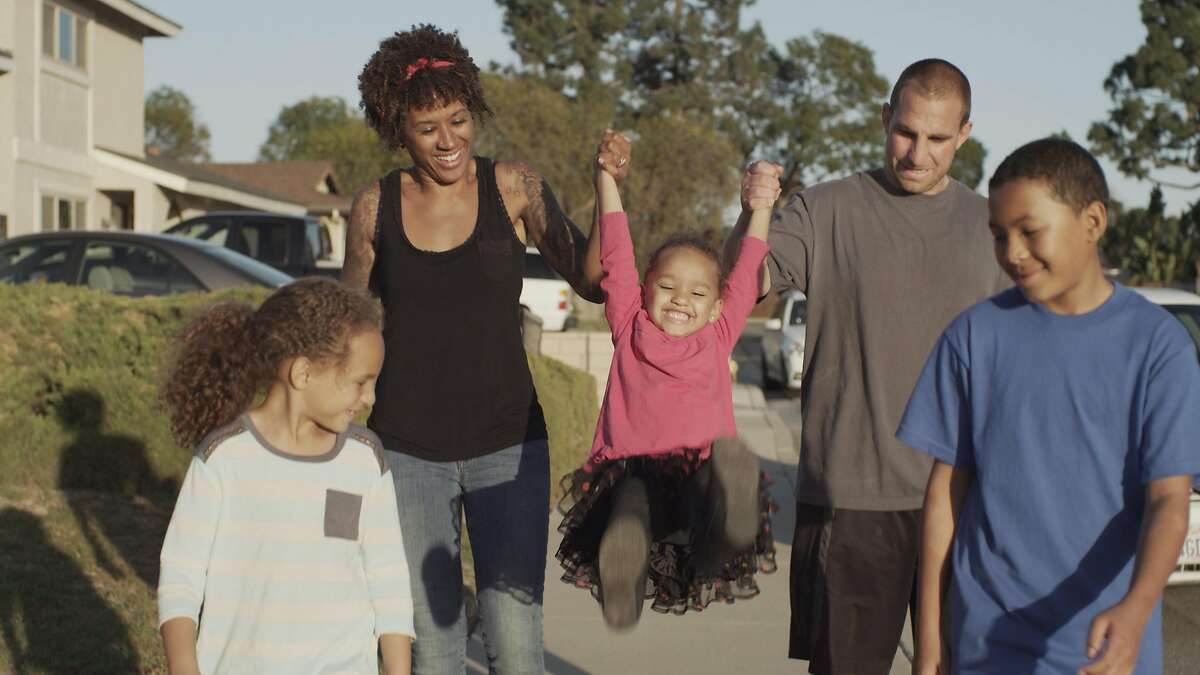 In an undated handout image, a screen grab from a video commercial for Honey Maid graham crackers featuring a multiracial family. A few years ago, Cheerios was the subject of racist vitriol online after showing a multiracial family in an ad. Now more companies are showing these relationships as a way of signifying their values. (Handout via The New York Times) -- NO SALES; FOR EDITORIAL USE ONLY WITH NYT STORY ADS MULTIRACIAL HOUSEHOLDS BY JOANNE KAUFMAN FOR JUNE 4, 2018. ALL OTHER USE PROHIBITED. --