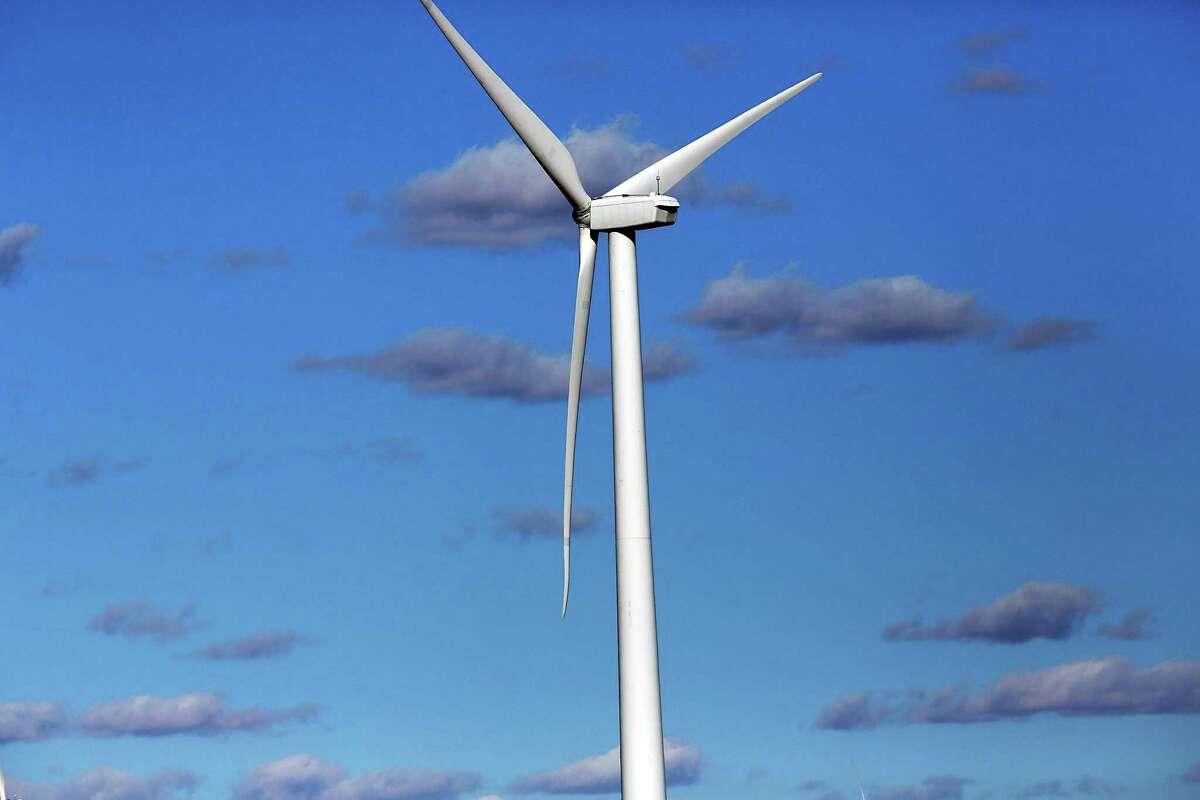 Wind turbines in Colorado City, Texas.