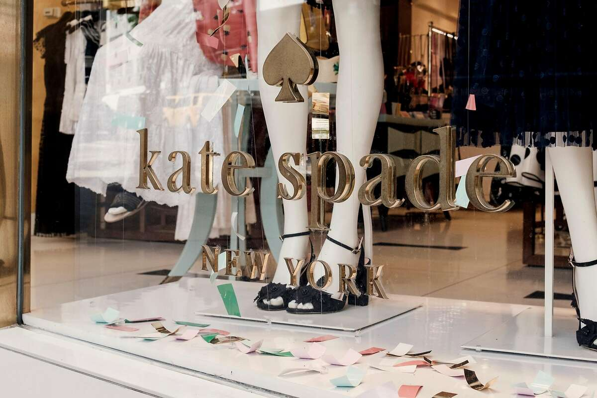 The flagship Kate Spade store, the day after she was found dead in her home, on Madison Avenue in Manhattan, June 6, 2018. Even as the Kate Spade brand passed from owner to owner shoppers never stopped associating the company with Spade, and Spade with good style. (Vincent Tullo/The New York Times)