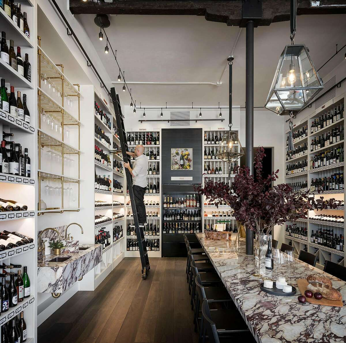 Verve Wine, the new shop from master sommelier Dustin Wilson, is now open in Pacific Heights.
