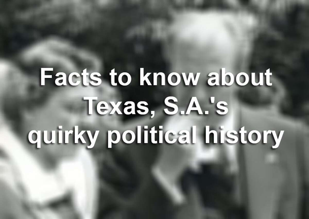 Here's a list of fun facts and firsts about famous political figures as they pertain to our fair nation and much closer to home.