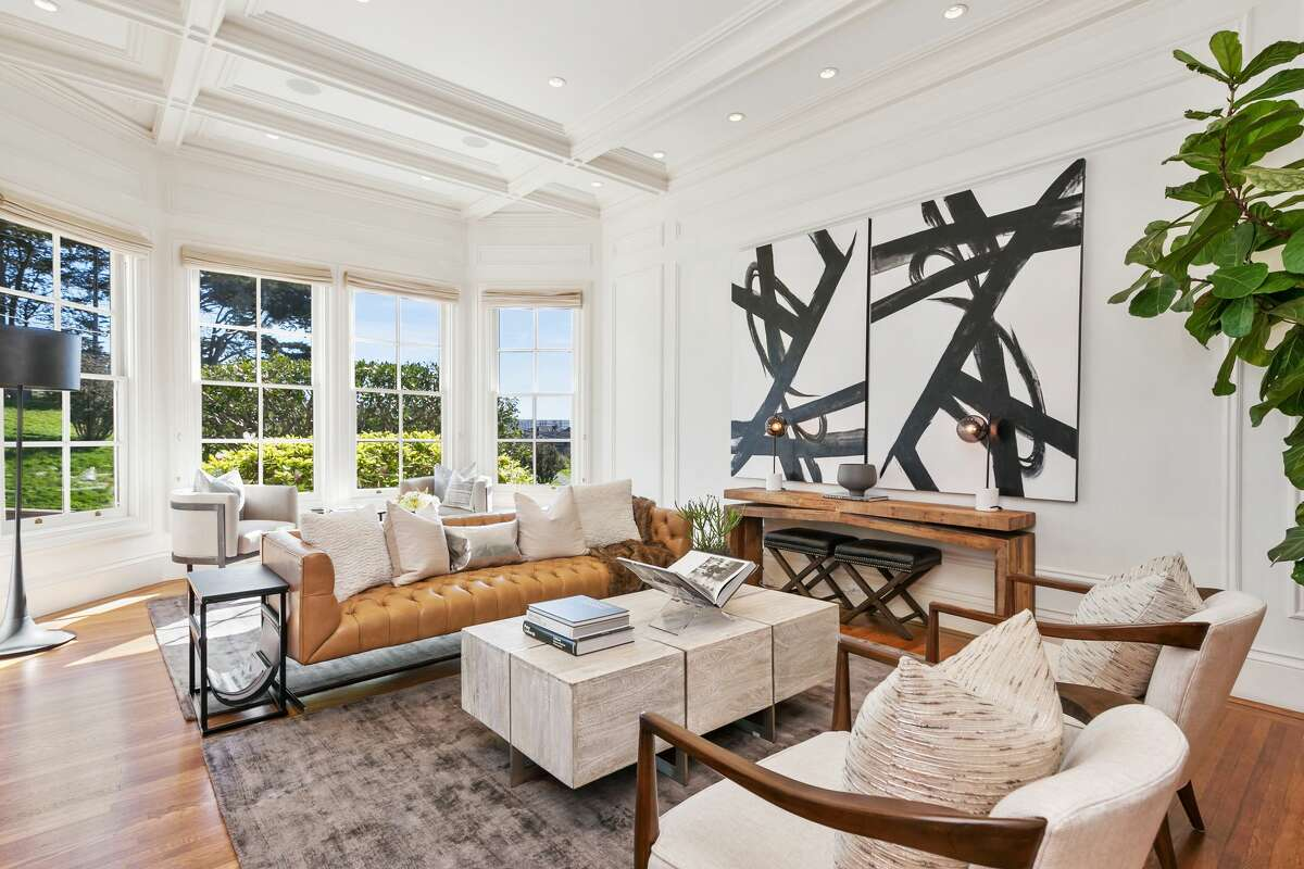 A five-bedroom Victorian at 2219 Scott St. in San Francisco's tony Pacific Heights neighborhood sold for $1.6 million over asking in May 2018. It was listed for $7.995 million and sold for $9.6 million.