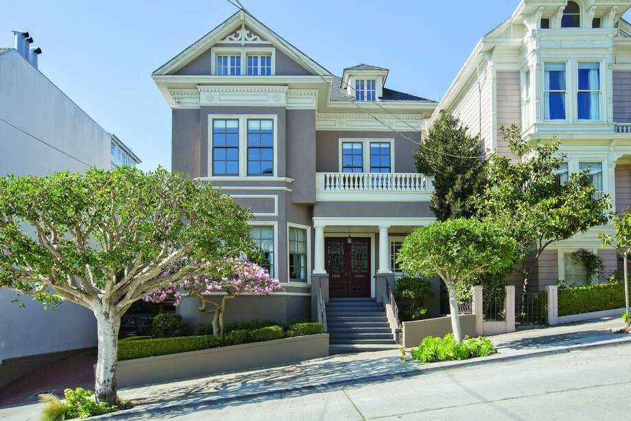 TOP FIVE OVERBIDS BY DOLLAR AMOUNT $1.6 million over asking A five-bedroom Victorian at 2219 Scott St. in San Francisco's tony Pacific Heights neighborhood sold for $1.6 million over asking in May 2018. It was listed for $7.995 million and sold for $9.6 million. Photo: Open Homes Photography