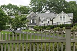 One of Steve Braverman's foreclosed homes, located on Lake Avenue in Greenwich, Conn., photographed on Wednesday, June 6, 2018.