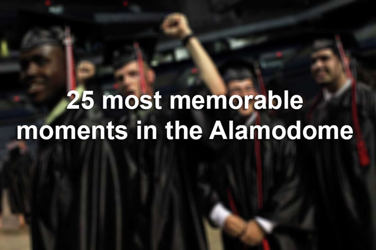 Spurs championships, NCAA Final Four games and big concerts are among the moments that have stood out in the Alamodome's 25-year history. Click ahead to relive the greatest times the Alamodome has seen since 1992.