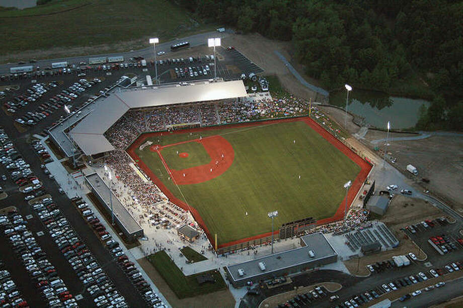 Rent One Ballpark in Marion will be the site of the Ohio Valley Conference Baseball Championships the next two seasons. Photo:       Southern Illinois Miners Photo