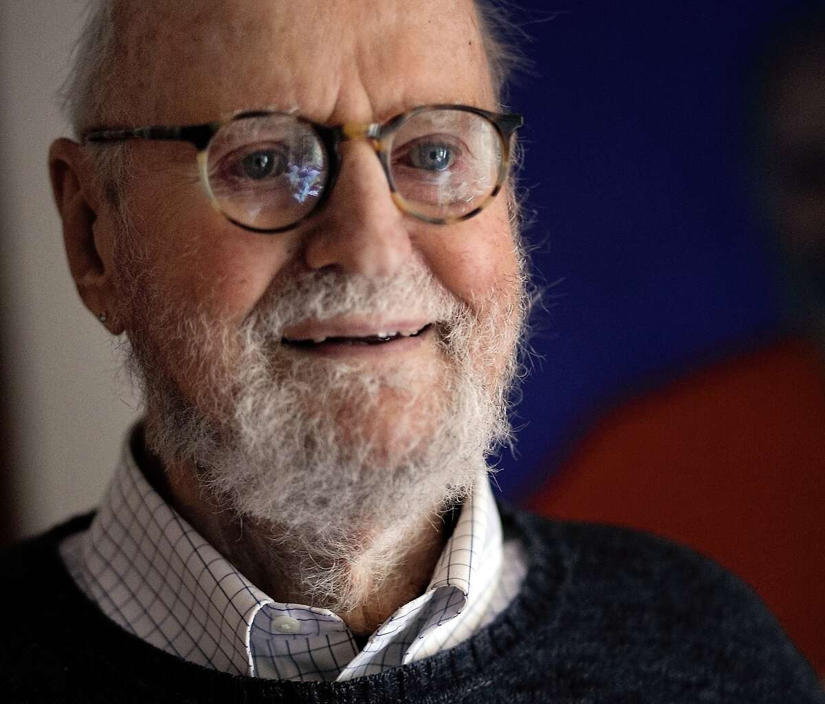 Lawrence Ferlinghetti at his apartment in North Beach on March 1, 2018.