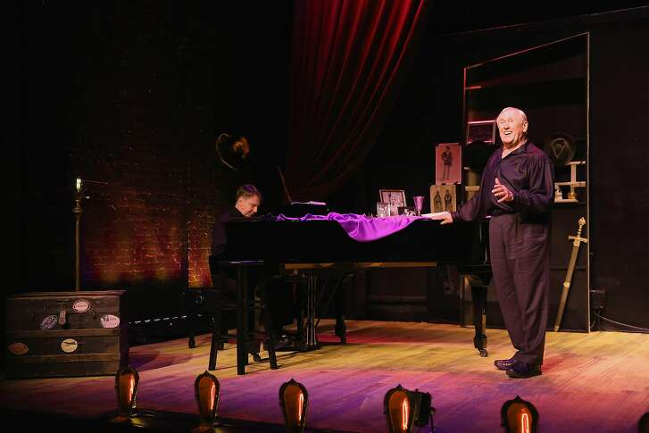 "Tony� Award-winning actor Len Cariou stars in his acclaimed solo show ""Broadway and the Bard: An Evening of Shakespeare & Song,"" presented at the Lesher Center for the Arts in a limited engagement June 21-24, 2018. Photo credit: Carol Rosegg"