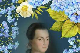 A portrait of former first lady Abigail Adams. The Norwalk Historical Society will host a summer tea party with an Abigail Adams re-enactor on July 15 at the Townhouse at Mill Hill Historic Park.