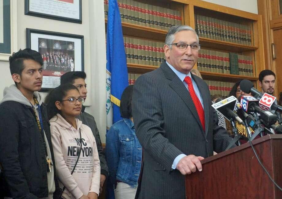 Senate Republican Leader Len Fasano, R-North Haven Photo: File Photo