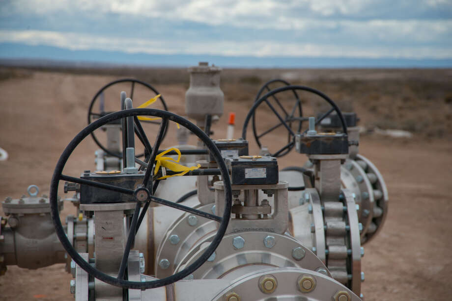 A Solaris Water Midstream take point in Eddy County is shown. Solaris' acquisition of Vision Resources will allow the company to expand its infrastructure in the Delaware Basin. Photo: Courtesy Solaris Water Midstream