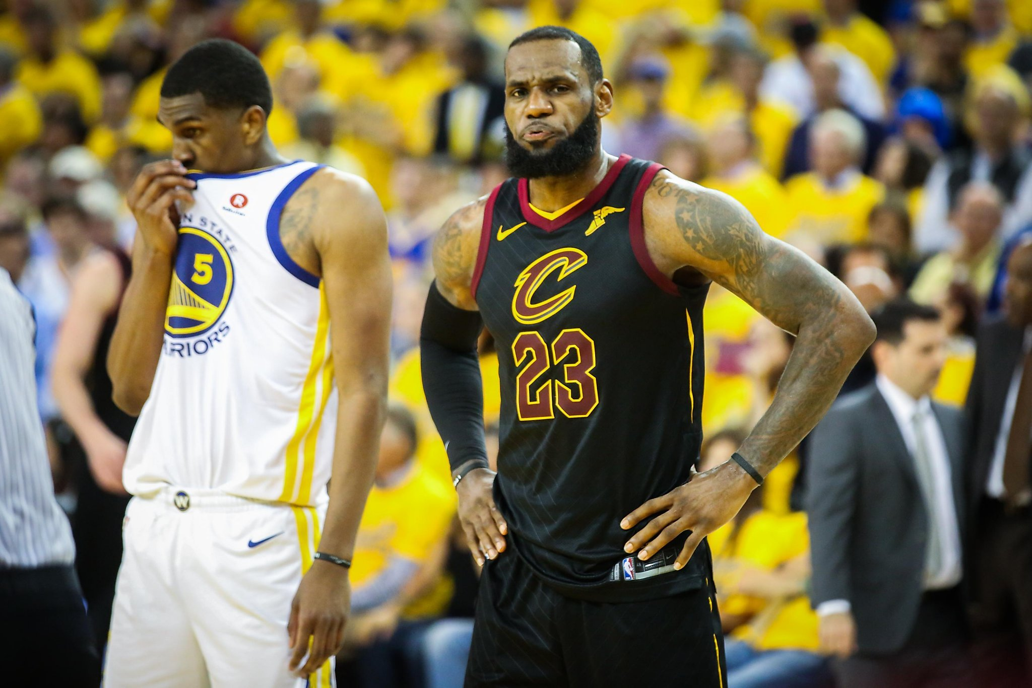 4591895fce6 Will Cleveland bid farewell to LeBron James on Friday night ...