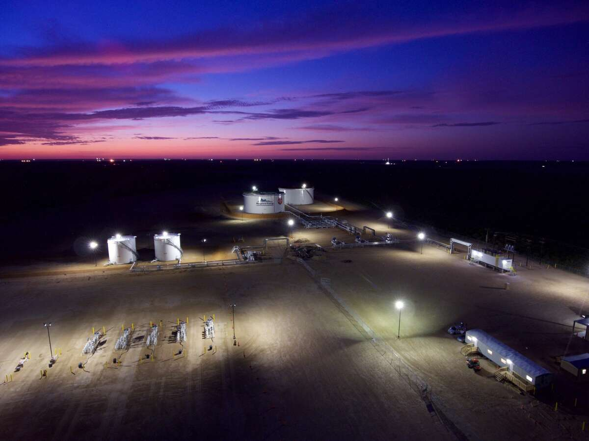 The Rangeland Energy II State Line Terminal in Loving County, Texas just south of the New Mexico border. The project was supported funding from San Antonio-based EnCap Flatrock Midstream.