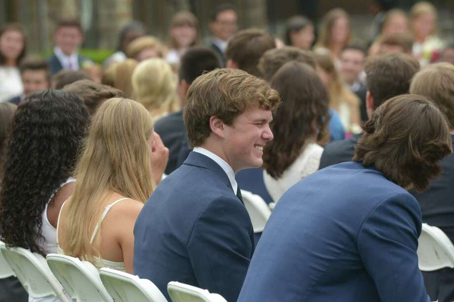 Greens Farms Academy Class of 2018 Commencement Ceremonies Thursday, June 7, 2018, in Westport, Conn. Photo: Erik Trautmann, Hearst Connecticut Media / Norwalk Hour
