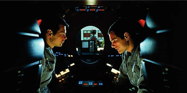 Keir Dullea and Gary Lockwood in '2001: A Space Odyssey'