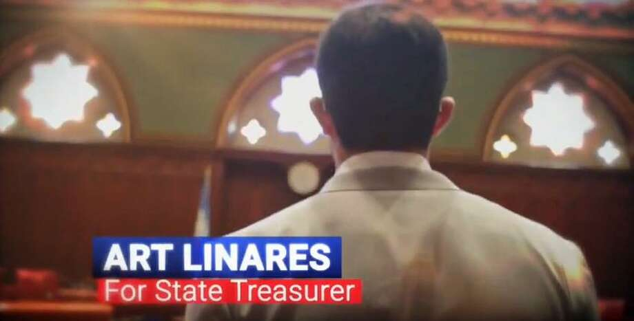 Republican state treasurer candidate Art Linares launched his first ad campaign on Thursday June 7, 2018. Photo: Contributed