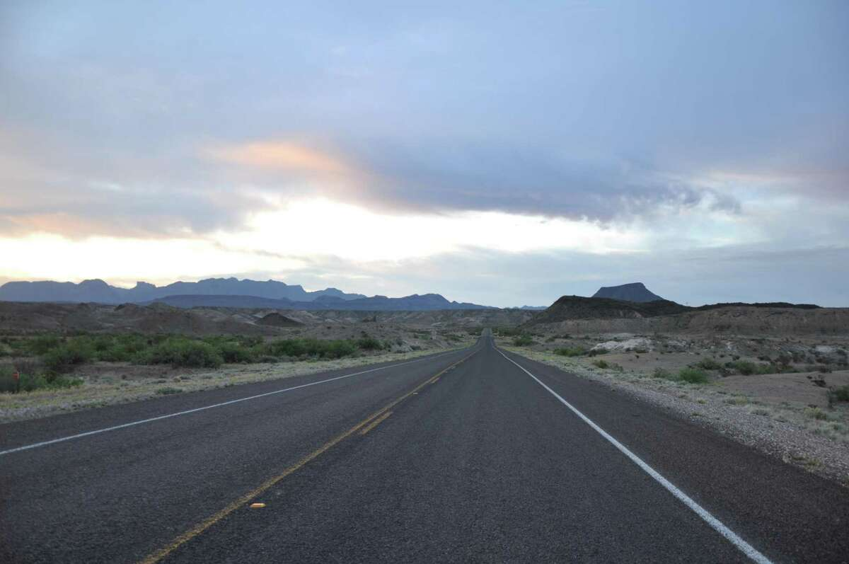 U.S. 385 leads from Marathon to Big Bend National Park.