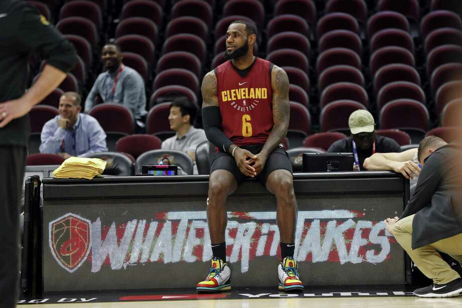 Cleveland Cavaliers' LeBron James pauses during practice Tuesday in advance of Game 3 of the NBA Finals in Cleveland. A reader offers praise. Photo: Scott Strazzante /San Francisco Chronicle / San Francisco Chronicle
