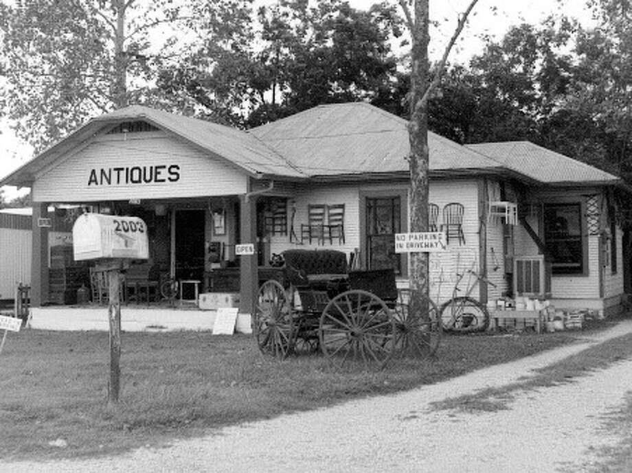 Charlott's Antiques opened in 1966 off of Austin Highway. Photo: Courtesy