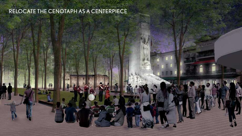 The 2018 Alamo comprehensive interpretive plan by PCAV Destinations, Cultural Innovations and Reed Hilderbrand. Photo: Courtesy Of The City Of San Antonio