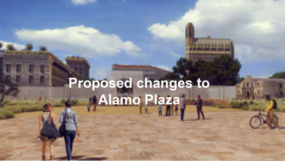 A new long-term plan for the Alamo was released to the public June 7, 2018.