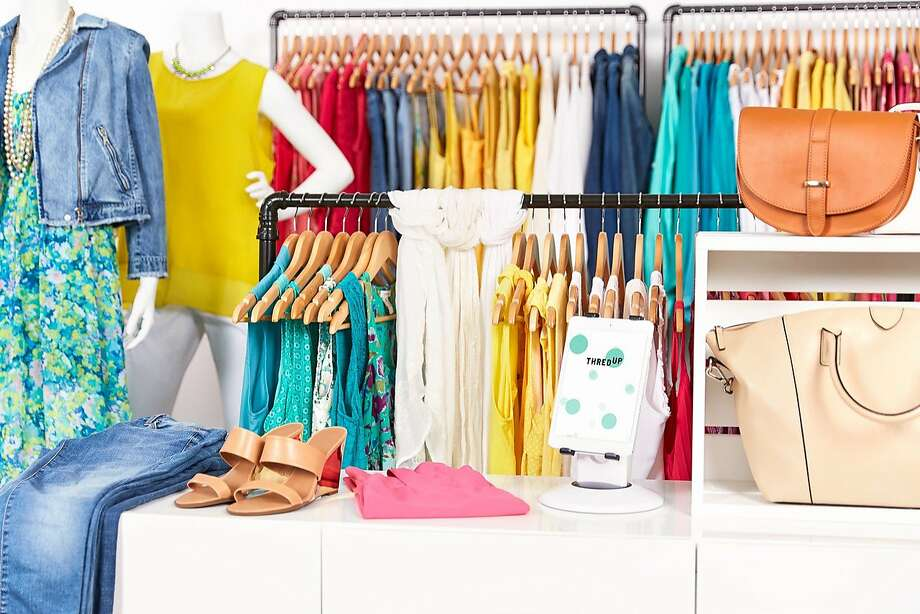 Local clothing consignment website ThredUpplans to open phsyical locations in Burlingame, Los Gatos and Pleasanton after a test store in Walnut Creek was successful. Photo: ThredUp