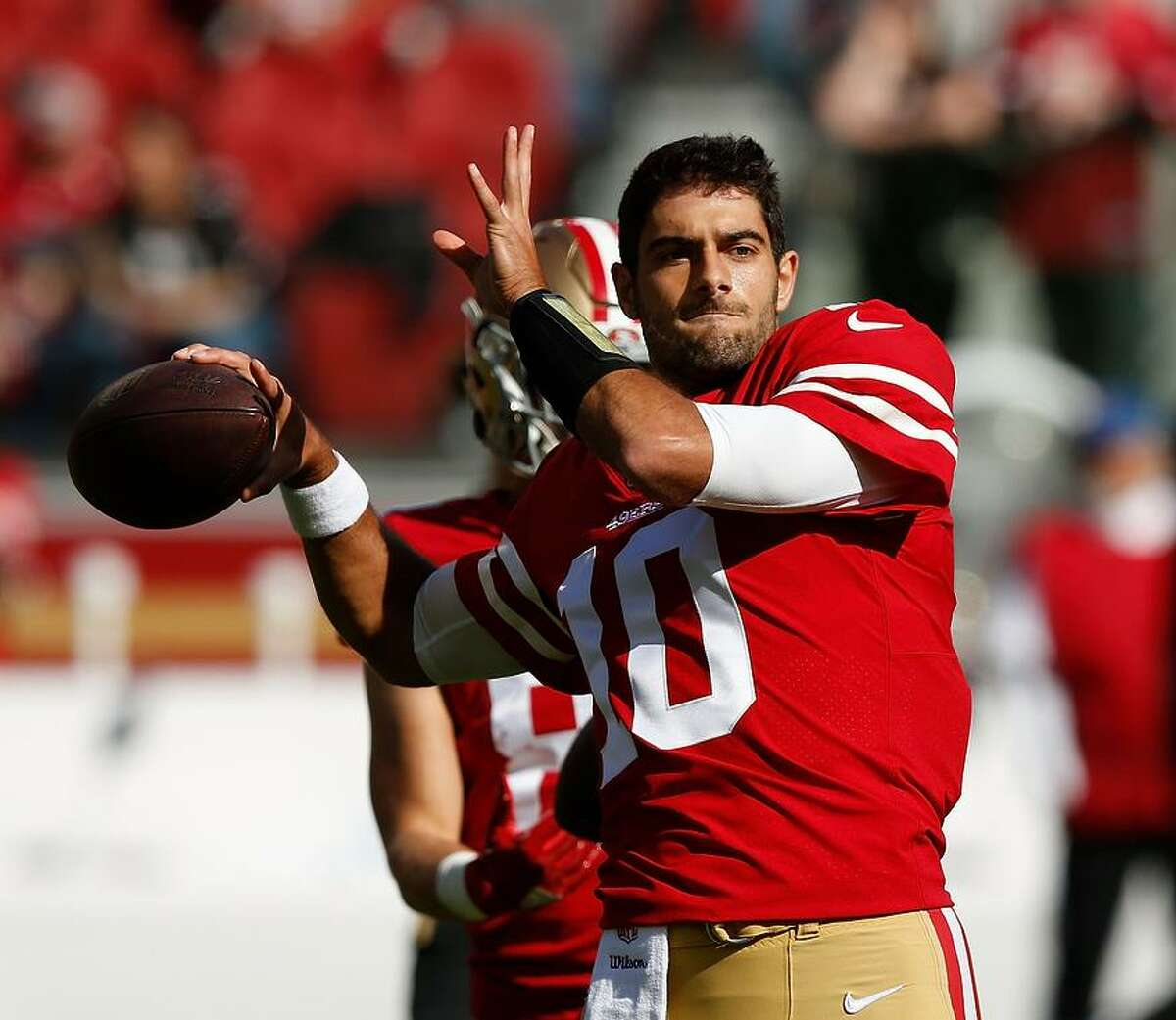 Jimmy Garoppolo has become a sudden celebrity in the Bay Area - and a rich one as well, with a $137.5 million contract.