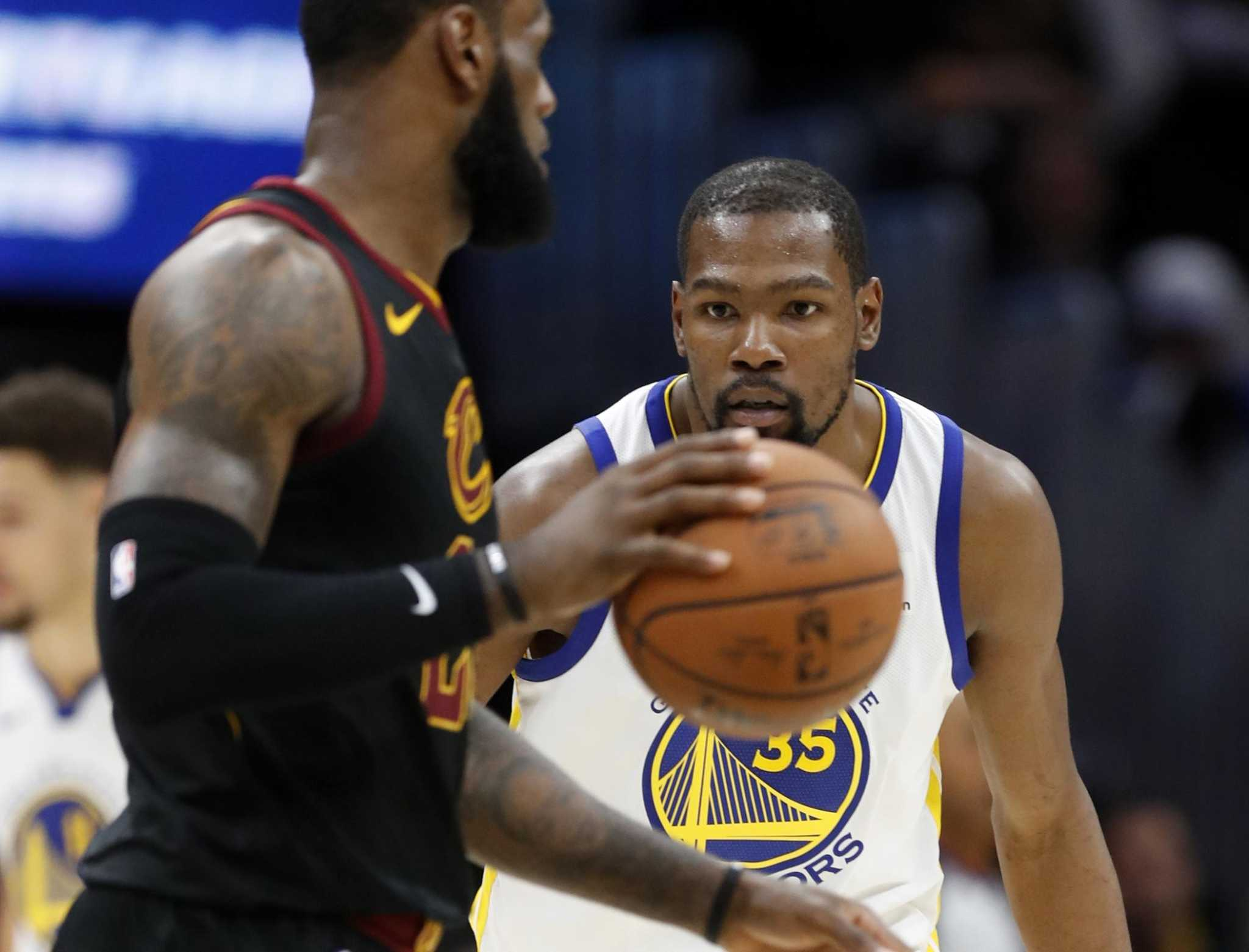 627e27b422c Kevin Durant turns tables on LeBron James - SFGate