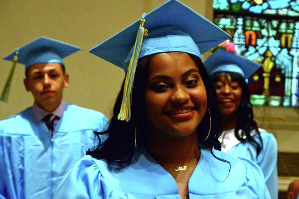 Kolbe Cathedral's 2018 Commencement Exercises in Bridgeport, Conn., on Thursday, June 7, 2018.