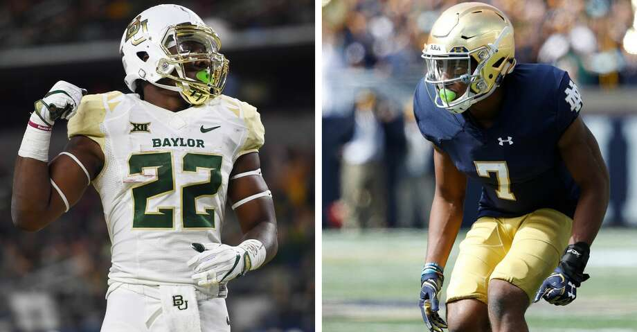 In the span of three days, the Cougars have addressed two big needs, landing former Baylor running back Terence Williams and Notre Dame cornerback Nick Watkins. Photo: Getty
