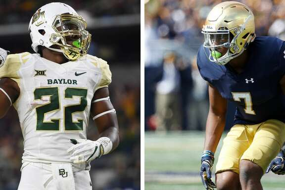 In the span of three days, the Cougars have addressed two big needs, landing former Baylor running back Terence Williams and Notre Dame cornerback Nick Watkins.