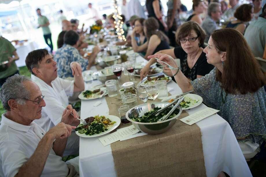 An Arts & Ideas food event at Massaro Farm in 2014. Photo: Courtesy Of Arts & Ideas