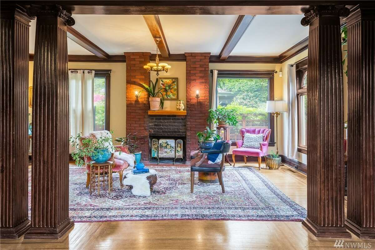 Vintage early 1900s Craftsman has been lovingly preserved in N Capitol Hill