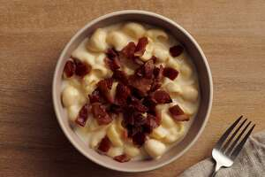 Panera has announced it is offering bacon macaroni and cheese for a limited time in Connecticut for its delivery customers.