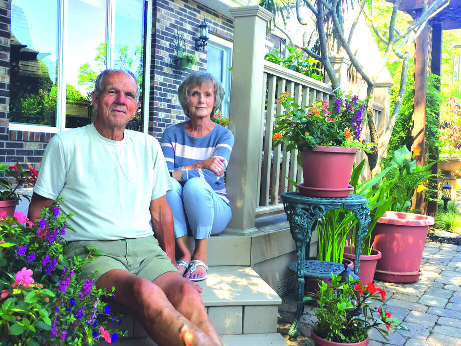 Gary and Barb Klucker will welcome guests to their home on the 2018 Madison County Garden Tour.