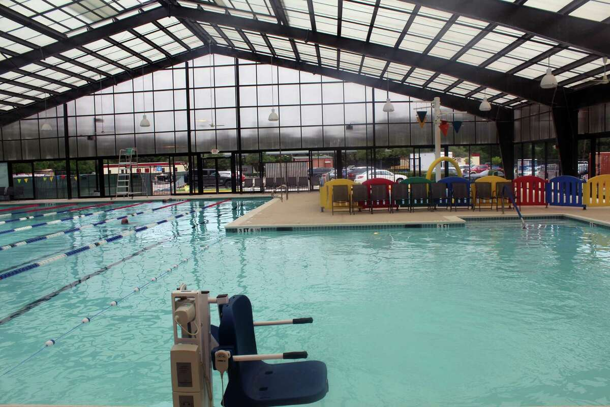 The pool is one of the completed permanent features in the Lake Houston Family YMCA's facility, which reopened in Kingwood on June 4.