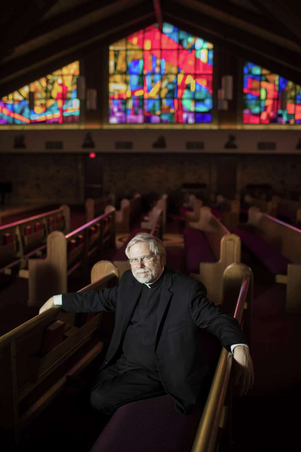 St. John Vianney Catholic Church's fourth pastor, Father Troy Gately was helpful and critical figure in the community for the many flood victims on the west side of Houston on the aftermath of Hurricane Harvey.