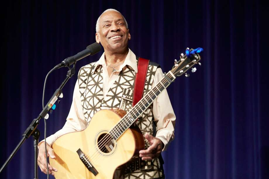 Reggie Harris, whose new album Ready to Go is riding the folk charts, performs at Voices Cafe in Westport on Saturday, June 9 in a Phil Ochs Song Night. Photo: Contributed Photo / Contributed Photo / Norwalk Hour contributed